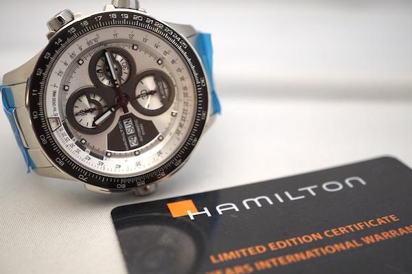 国内正規品ハミルトン認定商品 カーキ X-WIND H77726151 世界限定1999本 国内限定100本モデル