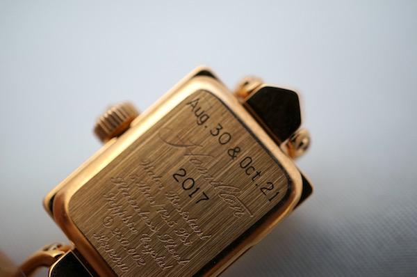 国内正規品ハミルトン社公式 レディハミルトン ヴィンテージ ピンクゴールドPVD H31241113
