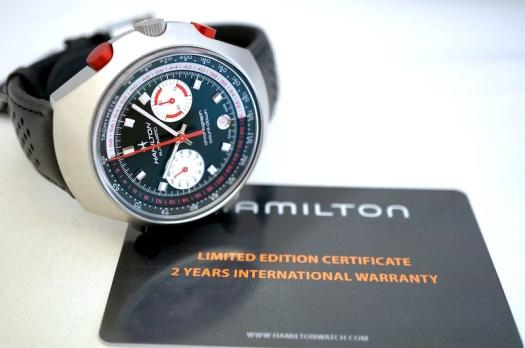 国内正規品ハミルトン クロノマチック50オートクロノ 世界限定1972本 H51616731